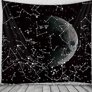 🆕XL Moon and Stars Tapestry